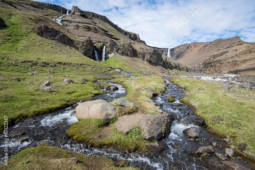 Hengifoss waterfall, Iceland - 67122367