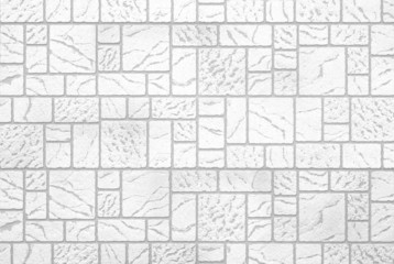 New white modern stone wall texture