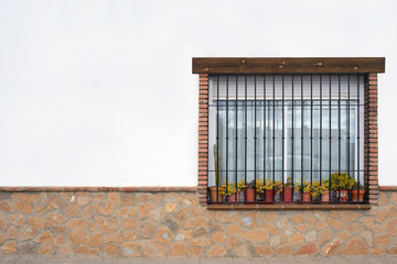 Typical window in a house