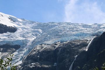 Kjenndalsbreen Gletscher. Norwegen