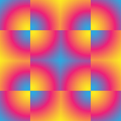 Gradient pixel pattern.
