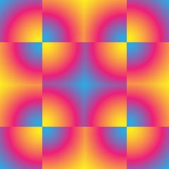 Gradient pixel pattern.