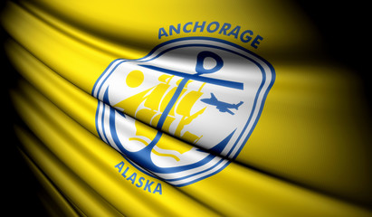 Flag of Anchorage (USA)