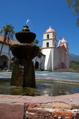 Historic Santa Barbara Mission