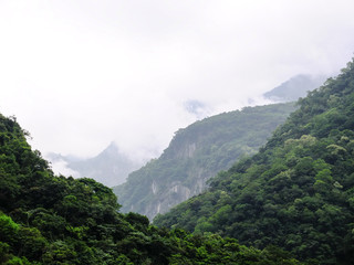 Taiwan Tropical Mountainscape