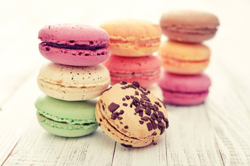 Different kinds of macaroons