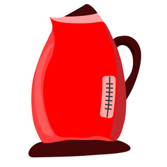 An electric kettle.