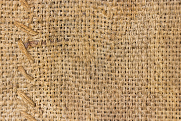 Burlap and knit texture background