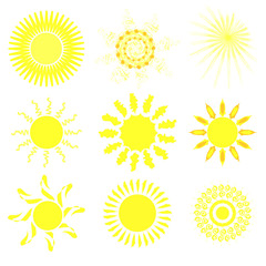 Collection of suns