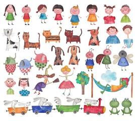 Set characters