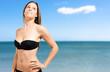Bikini woman on the beach