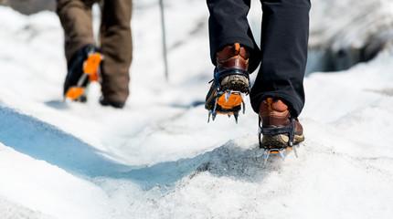 Gletscher Wanderung