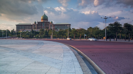 Malaysian Government Building of Putrajaya
