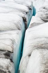 Gletscher - Gletscherwanderung - Gletscherspalte