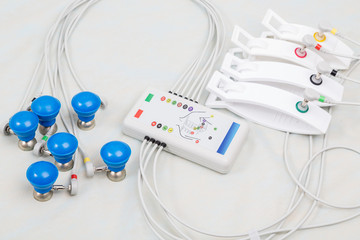 Instruments for measuring cardiac organism