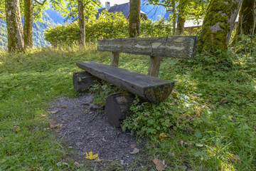 Bench in Bavaria, Germany
