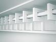 Abstract Architecture Interior Design Background