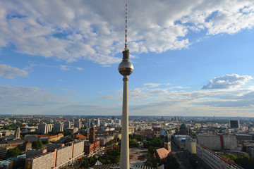 Fernsehturm, Alex, Alexanderplatz, Rotes Rathaus, Berlin