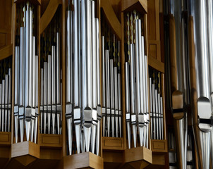 Organ musical instrument detail