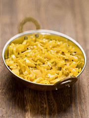 indian vegetarian cabbage thoran