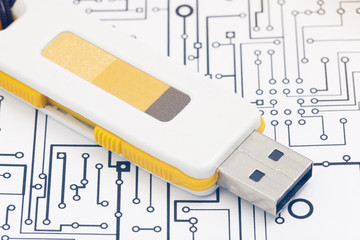 Pendrive and document
