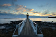 canvas print picture - Marshall Point lighthouse