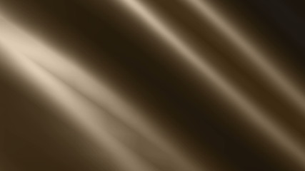 Background animation of looping shiny dark chocolate cloth.