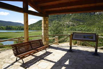 Laguna locality Uña, Cuenca, Castilla La Mancha, Spain,