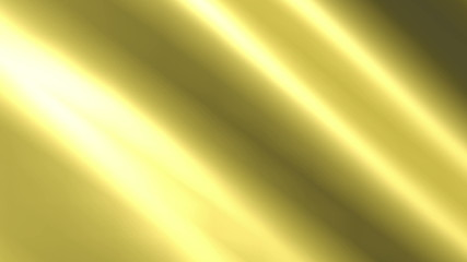 Background animation of looping shiny gold cloth.