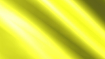 Background animation of looping shiny yellow cloth.