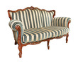 Antique velvet couch - 67136133