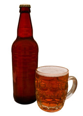 Traditional bottle of Craft Beer