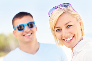 Woman spending time with her boyfriend
