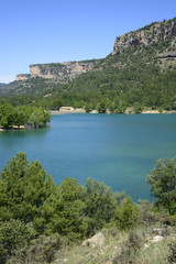 Embalse de La Toba in Cuenca, Castilla La Mancha, Spain.