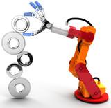 Robot arm build Technology growth gear