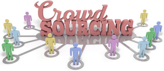 Crowdsourcing people contributors social word