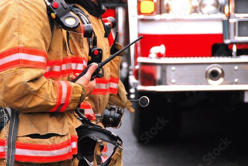 Leinwanddruck Bild Fire Command