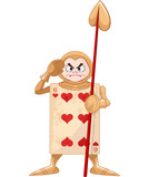 Fototapety Queen of Hearts Guard