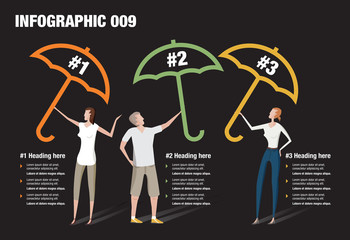 Umbrella Infographic