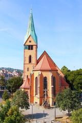 Stuttgart, Leonhardskirche (Juli 2014)