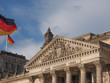 canvas print picture - Reichstag Berlin