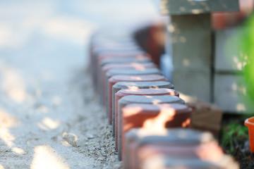Tile paving