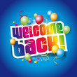 Welcome back (Back to school)