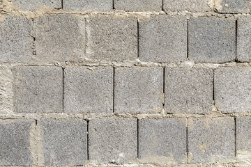pattern of old wall without plaster