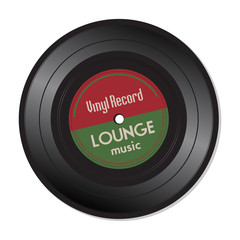 Lounge music vinyl record