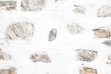 Wand Haus als Hintergrund mit Stein Verputz in Weiß und Grau
