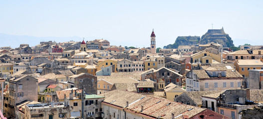 The town of Corfu, Greece, Europe