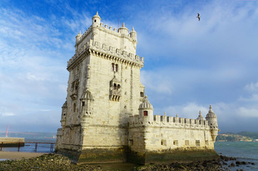 Tower of Belem. Lisbon, Portugal
