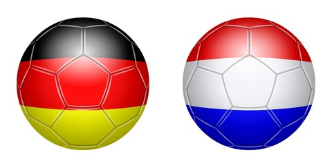 Football. Germany - Netherlands