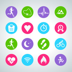 activity icon set 001